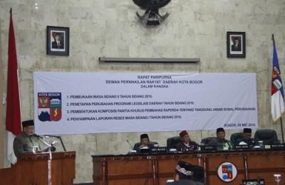DPRD Bentuk Pansus Raperda Kota Bogor tentang Tanggung Jawab Sosial Perusahaan