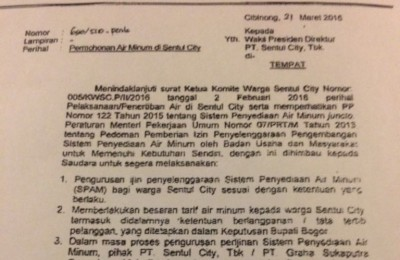Surat Bupati Nurhayanti