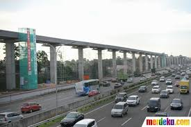 Jalur LRT Jagorawi - Bogor