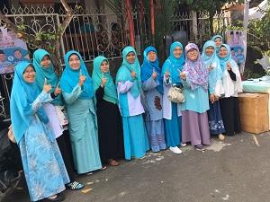 Silaturahmi Ruyat dan warga BRP