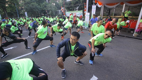 IFCC 7 K Fun Run, Memperkuat  Kota Bogor Kota Para Pelari