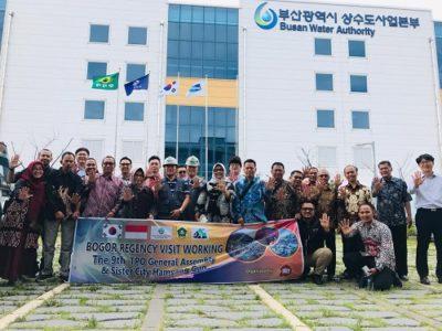 Kunjungan kerja Pemkab Bogor ke Busan Water Autority