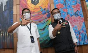 Ridwan Kamil dan Sandiaga Uno