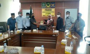 Fraksi KBR Kota Bogor terima anggota DPRD DKI Jakarta