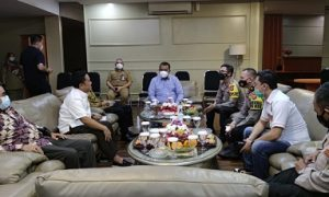 Kapolres Bogor kunjungi Pimpinan DPRD Kabupaten Bogor