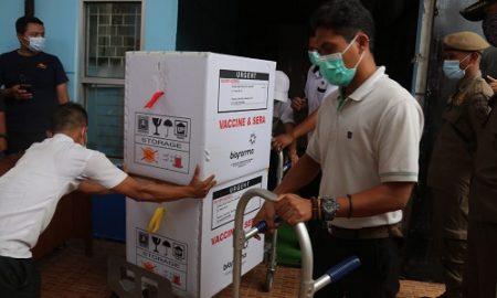 vaksin tahap 2 tiba di Kabupaten Bogor