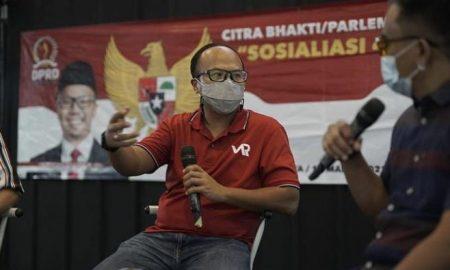 Anggota DPRD Jabar Viman Alfarizi Ramadhan Sosialisasi Empat Pilar di Tasikmalaya