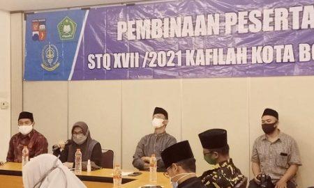 Sekretaris Daerah (Sekda) Kota Bogor Syarifah Sofiah menghadiri acara pembinaan Seleksi Tilawatil Qur'an (STQ) yang digelar Lembaga Pengembangan Tilawatil Qur'an (LPTQ) Kota Bogor di Hotel Amaris Pakuan