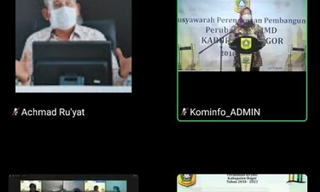 musrenbang perubahan RPJMD Kabupaten Bogor
