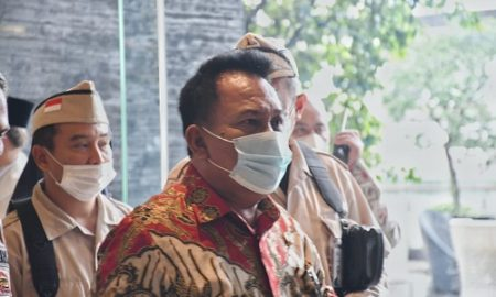 Ketua DPRD Provinsi Jawa Barat Brigjen TNI (Purn) Taufik Hidayat menghadiri acara peluncuran Gerakan Nasional (Gernas) Bangga Buatan Indonesia (BBI) Jabar bertempat di Trans Convention Centre, Kota Bandung, Sabtu (3/4/2021).(Foto : M. Sidiq/Humas DPRD Jabar).
