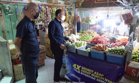 Dirut Perumda PPJ cek stok pangan di pasar Sukasari