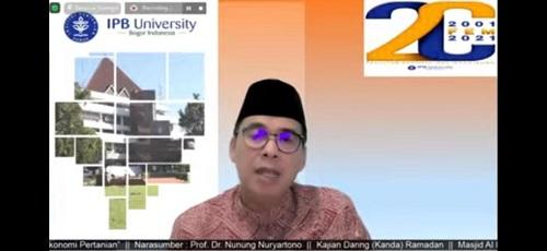 Prof Nunung Nuryartono