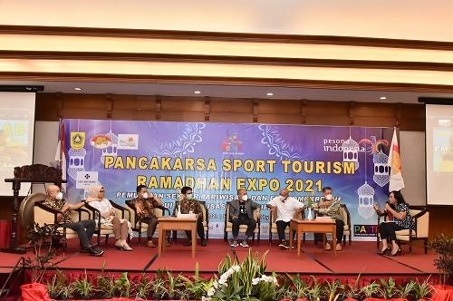 Pancakarsa Sport and Tourism Expo, di Lido Resort, Cigombong, Kamis (6/5).