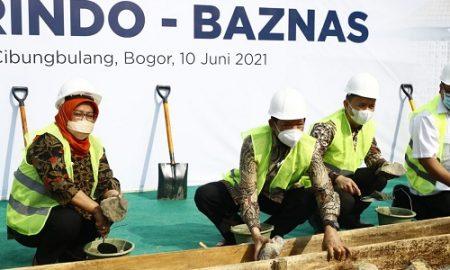 Peletakan Batu Pertama Rumah Tahfidz, di Cirangkong Kecamatan Cibungbulang Kabupaten Bogor,