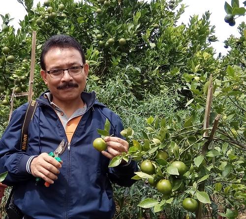 Dr Darda Efendi, peneliti dari Pusat Kajian Hortikultura Tropika (PKHT) Lembaga Penelitian dan Pengabdian kepada Masyarakat (LPPM) IPB University