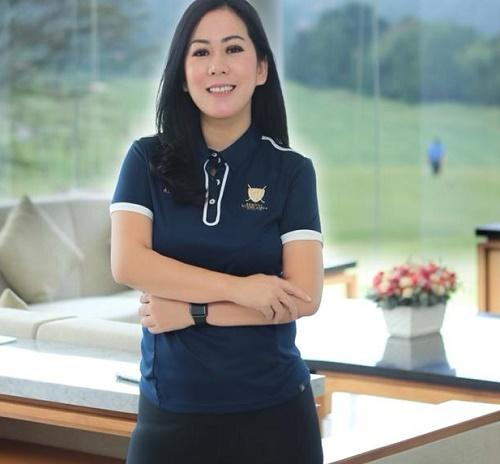 Aida Ristany selaku Commercial Director Sentul Highlands Golf Club