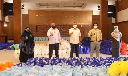 Komisi IV DPRD Kota Bogor melakukan sidak ke posko Logistik Darurat Gedung Wanita