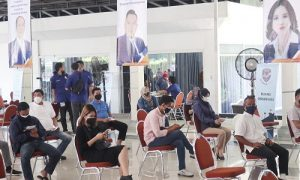 Nasdem Kota Bogor gelar vaksinasi massal
