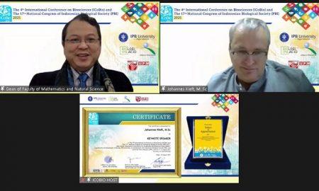 ICoBio, Departemen Biologi, FMIPA, IPB University, Perhimpunan Biologi Indonesia (PBI), UPM, Biodiversias