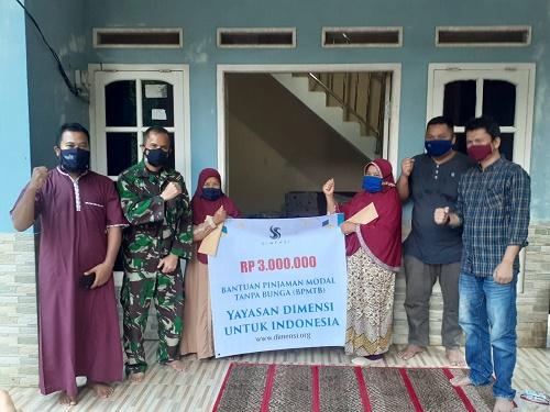 Yayasan Dimensi Bantu UMKM dengan Pinjaman tanpa Bunga