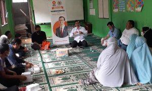 Anggota DPRD Kota Bogor Mardiyanto melakukan reses di Cikaret