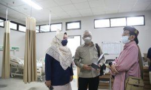 Pimpinan dan Anggota Komisi V DPRD Provinsi Jawa Barat melakukan kunjungan monitoring kegiatan pelaksanaan vaksin di RSUD Al Ihsan