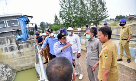 Komisi IV DPRD Provinsi Jawa Barat meninjau langsung Daerah Irigasi Cipanas